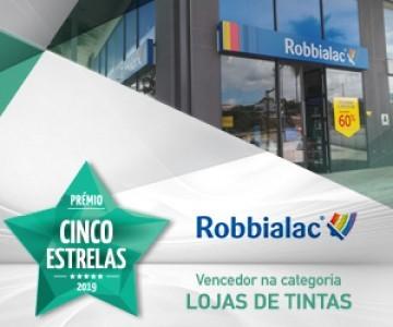 lojas_robbialac_premio_cinco_estrelas